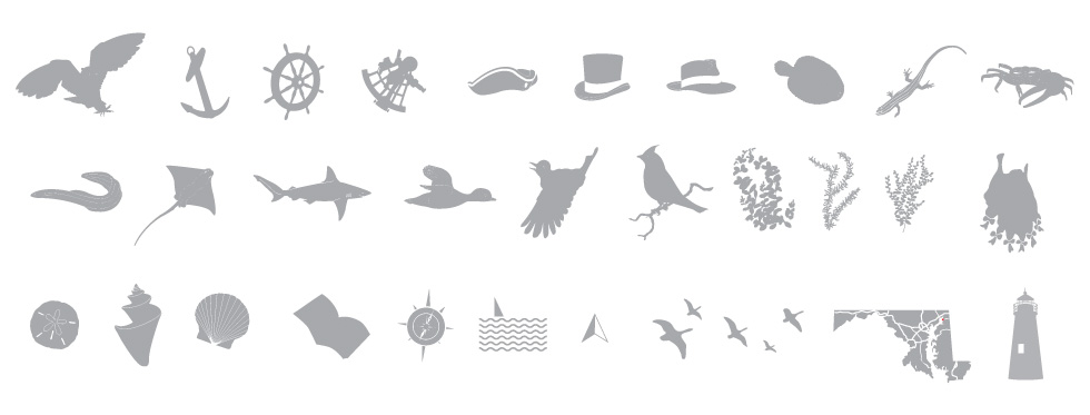 Mural vector illustration icons.